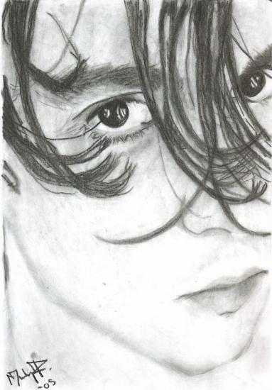 Johnny Depp by Halleberrynumbr2